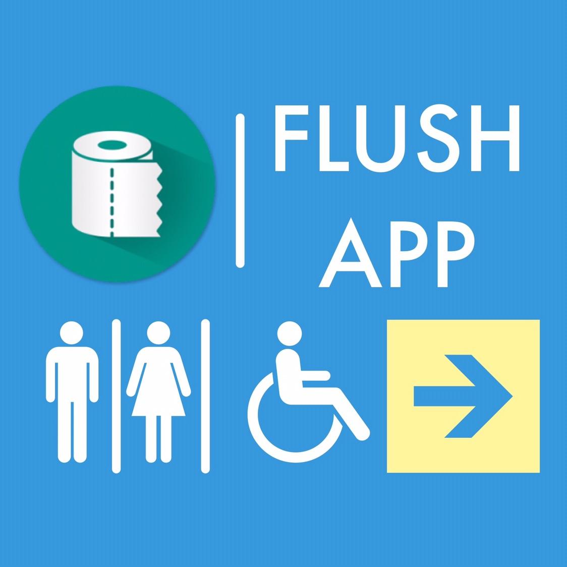 Приложение для поиска туалетов FLUSH