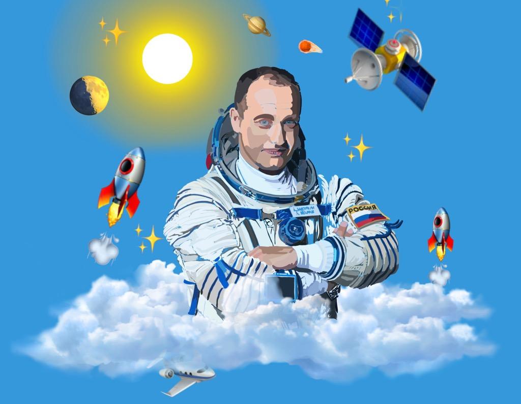 Космонавт-испытатель Александр Мисуркин
